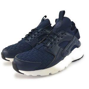 Nike Mens Air Huarache Run Ultra SE Obsidian Shoes